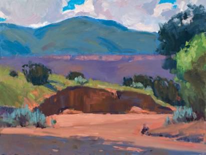 """Big Arroyo"" 18"" x 24"" oil on canvas"