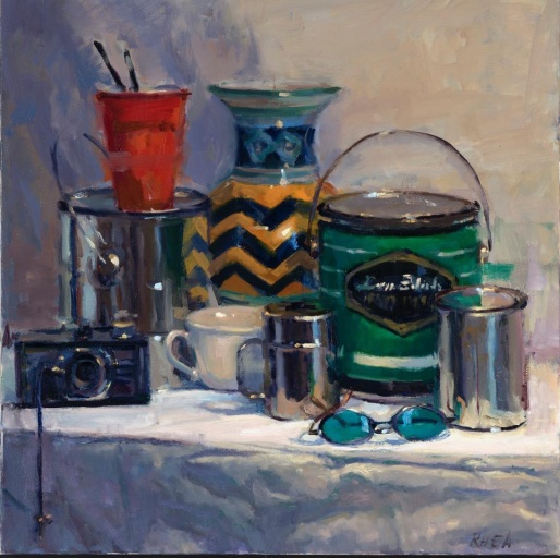 """Big Still Life"" 24"" x 24"" oil on canvas"