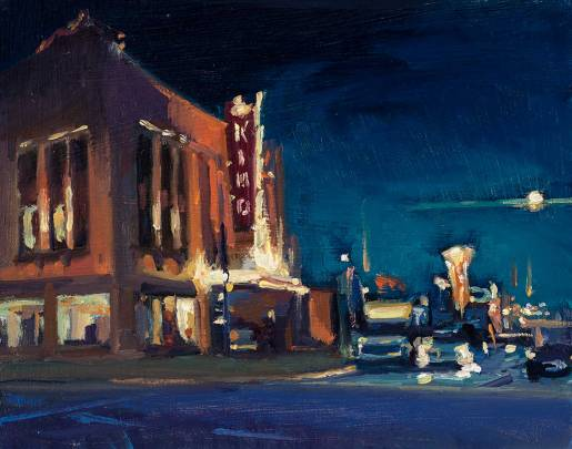 Kimo Theater II 11″ x 14″ oil on canvas