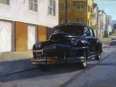 """""""Thug"""" 24"""" x 30"""" oil on canvas"""